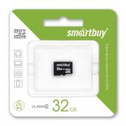 32GB Карта памяти MicroSDHC Smart Buy class 10