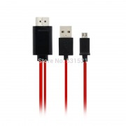 Адаптер MHL to HDMI Micro USB type 2м