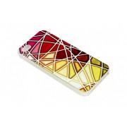 Чехол iPhone 5/5S Мозайка разноцветная