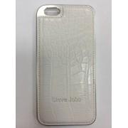Чехол iPhone 6 Крокодил кожа белый