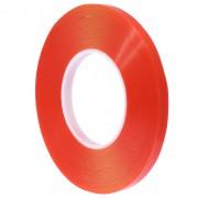 Двухстороний скотч Красный прозрачный высоко температурный Super Sticky