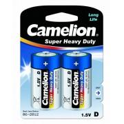 00524 Camelion R20 Blue BL-2 ( батарейка,1.5В)