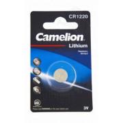 02306 Батарейка Camelion CR1220 BL-1 литевая 3V