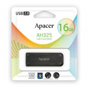 16GB USB Flash, Apacer AH325 черный