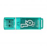 16GB USB Flash, Smart Buy Glossy зеленый