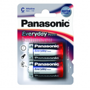 24682 Батарейка Panasonic   EVERYDAY LR14  / 2BP