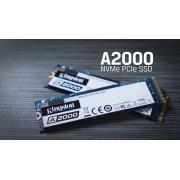 250Гб SSD M.2 2280 Kingston A2000 (R2000/W1100MB/s) TLC 3D NAND