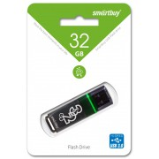 32GB USB 3.0 Flash, Smart Buy Glossy серый