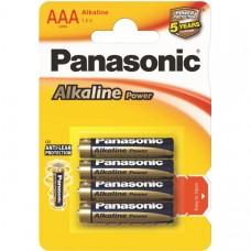 33011 Батарейка Panasonic Alkaline LR03 4BP