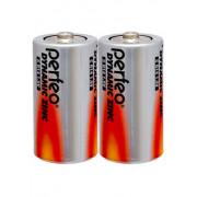 36497 Батарейка Perfeo R14/2SH Dynamic Zinc