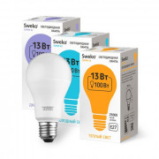 38771 Светодиодная лампа 42 серия 42LED-A65-20W-230-6500K-E27