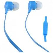 41316 Наушники Perfeo внутриканальные c микрофоном HANDY голубые