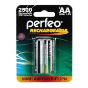 41576 Аккумулятор Perfeo AA2500mAh/2BL