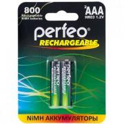 41613 Аккумулятор Perfeo AAA800mAh/2BL