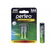 41620 Аккумулятор Perfeo AAA600mAh/2BL