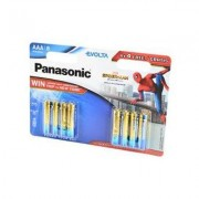 44796 Батарейка Panasonic EVOLTA LR 03 BL8 (4+4) Spider-Man