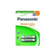 45267 Аккумулятор Panasonic тпи AAA P-03 2B 750mAh EVOLTA