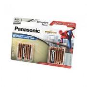 48008 Батарейка Panasonic EVERYDAY LR03 BL8 6+2 Spider-Man