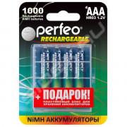 50363  Аккумулятор Perfeo AAA1000mAh/4BL+BOX