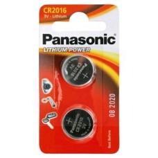 60665 Батарейка Panasonic Power Cells CR 2016 B2