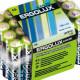 71003 Батарейка ERGOLUX R6 Alkaline BOX-24