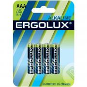 71027 Батарейка Ergolux LR03 Alkaline BL-4