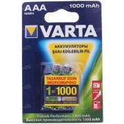 73824 Аккумулятор  VARTA 5703.301.402(412) AAA (Dig.Photo) 1000 mAh BP2