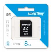 8GB Карта памяти SDHC Smart Buy class 10