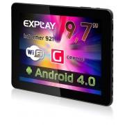 "9.7"""" Планшетный ПК Explay Informer 921 8Гб 1 ГГц/1Гб+8Гб/IPS Емк. 1024x768/MicroSD/WiFi/Cam 2Мп/Android 4.0"