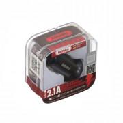 Адаптер автомобильный АЗУ-USB REMAX 2100mAh