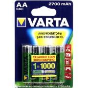 Аккумуляторы VARTA AA 2700мАч 4 шт