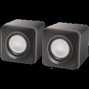 Акустическая 2.0 система Defender #1 SPK 33 черный, 5 Вт, питание от USB, 65633