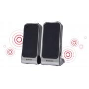 Акустическая 2.0 система Defender SPK-225 черный, 4 Вт, питание от USB, 65220