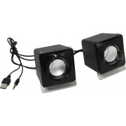 Акустическая 2.0 система Defender SPK 35 черная, 5 Вт, питание от USB, 65635