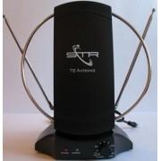 Антенна комнатная с усилителем DVB-T2 STR-I-036A