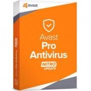 Антивирус  Avast Pro Antivirus Nitro (лицензия для 3 ПК,длительностью 1 год)
