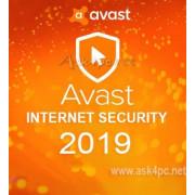 Avast Internet Security 2019 (лицензия для 3 ПК,