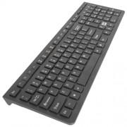 Беспроводная клавиатура USB Defender UltraMate SM-535 (RU) черная, полноразмерная, питание 2*ААА, 45535
