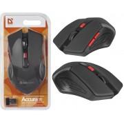 Беспроводная мышь Defender Accura MM-275 красная, 6 кнопок, 800-1600 dpi, 52276