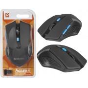 Беспроводная мышь Defender Accura MM-275 синяя, 6 кнопок, 800-1600 dpi, 52275