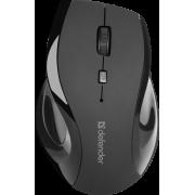 Беспроводная мышь Defender Accura MM-295 черная, 6 кнопок, 800-1600 dpi, 52295