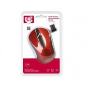 Беспроводная мышь Smartbuy ONE 329AG-R красная, SBM-329AG-R