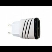 Блок питания USBx2 5v 2а белый