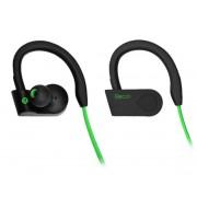 Bluetooth  стереогарнитура Recci Sport зеленые