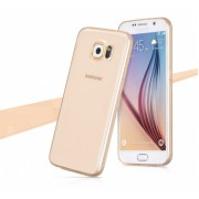Чехол-накладка для Samsung Galaxy S7 Hoco TPU золотой