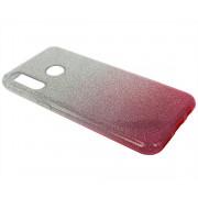 Чехол Honor 20S/20 Lite/Huawei P30 Lite/Nova 4E Shine (серебро/розовый)