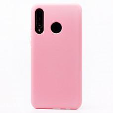 Чехол Honor 20S/20 Lite/P30 Lite/Nova 4E Силикон 2.0mm (розовый)