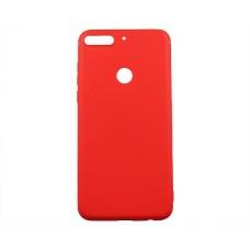 Чехол Honor 7C Pro Силикон красный