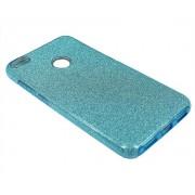 Чехол Huawei Honor 8 Lite Shine голубой