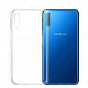 Чехол Samsung A750F Galaxy A7 2018 силикон прозрачный